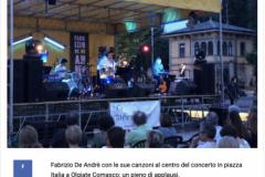 Giornale Di Como - Concerto a Olgiate Comasco