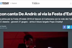 Treviso TODAY FaberNoster 2019 De André